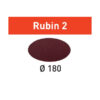 Festool Krążki ścierne STF D180/0 P220 RU2/50 Rubin 2