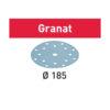 Festool Krążki ścierne STF D185/16 P240 GR/100 Granat