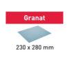 Festool Papier ścierny 230x280 P240 GR/10 Granat