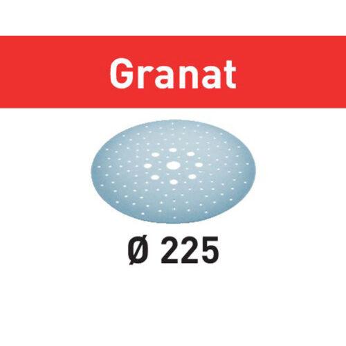 Festool Krążki ścierne STF D225/128 P180 GR/5 Granat