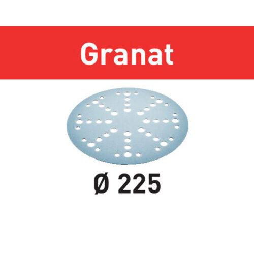 Festool Krążki ścierne STF D225/128 P80 GR/5 Granat